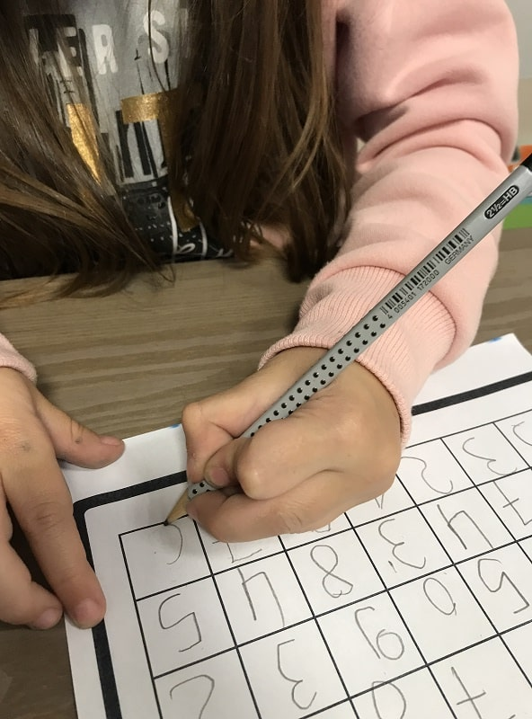 Δυσκολίες σε δραστηριότητες γραφής